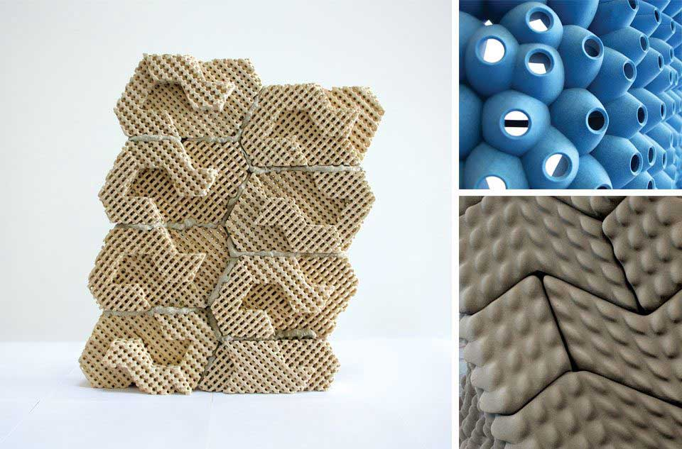 3D Printed Bricks