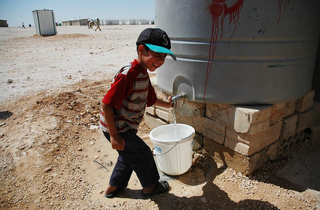 Refugee flows alter balance of water resources in the Middle East