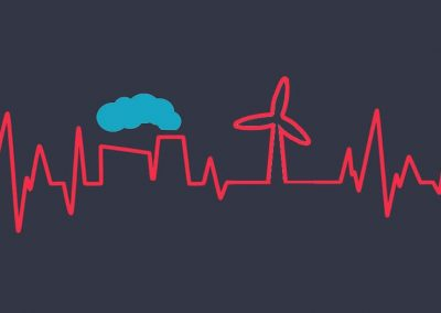 Low-carbon energy boosts human and ecological health