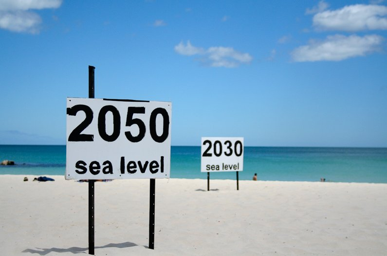 Sea level rise is on the rise