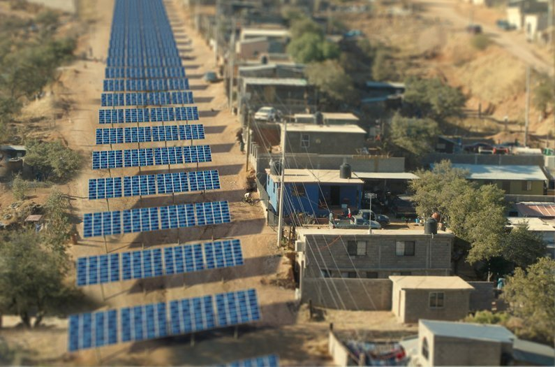 Instead of Trump's Wall, Let's Build a Border of Solar Panels