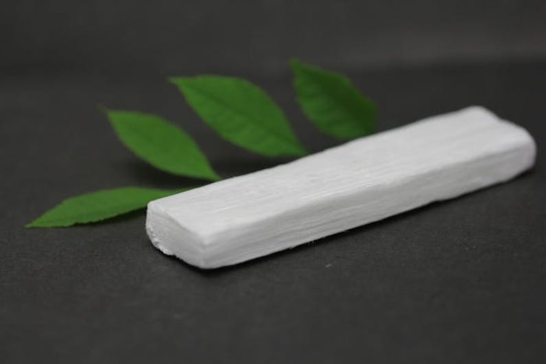 This is nano wood—an ecofriendly alternative to styrofoam insulation