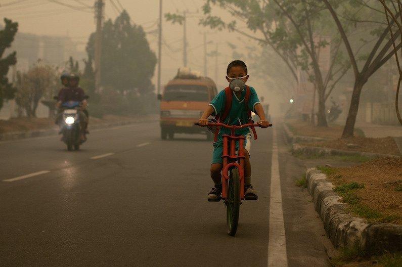 La contaminación por partículas en China está cayendo, pero esa no es una buena noticia