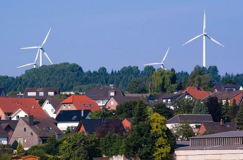 Wind Turbines Make Better Neighbors than Power Plants