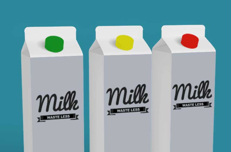 A sensor that monitors milk's freshness in real time could dramatically reduce waste