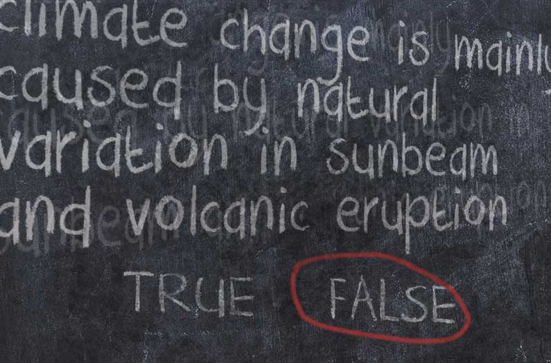People have more trouble identifying climate falsehoods than truths
