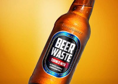 Researchers have turned beer waste into valuable carbon materials
