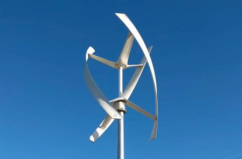 Vertical wind turbines could produce 10x the power per acre as their  horizontal counterparts