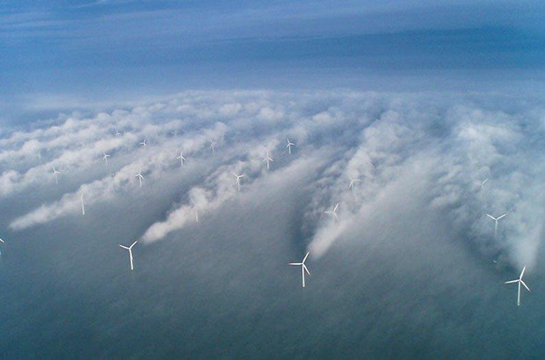 Los vientos del Atlántico Norte podrían proporcionar energía suficiente para el mundo entero.
