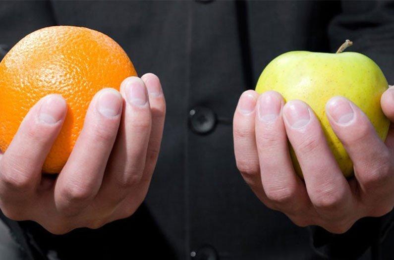 Los alimentos individuales pueden tener huellas de carbono muy diferentes, dependiendo de cómo se producen.