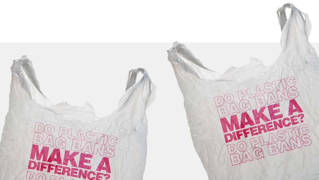 Do plastic bag bans make a difference?