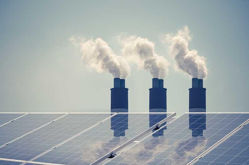 El control de la contaminación y el crecimiento de la energía solar en China van de la mano