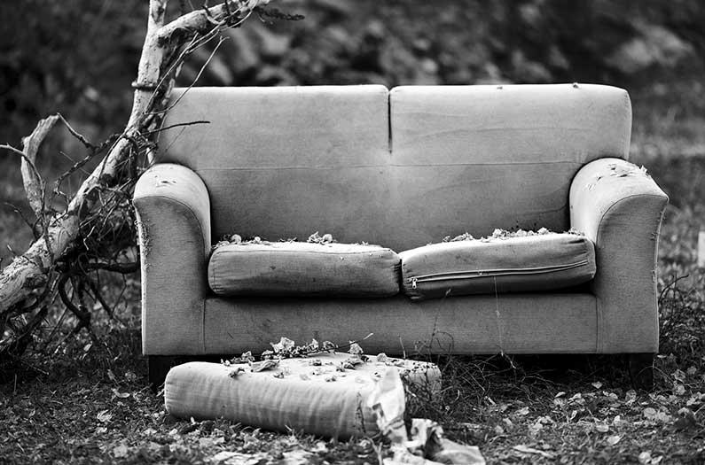 Fin de la planificación de la vida. . . para muebles de espuma y aislamiento