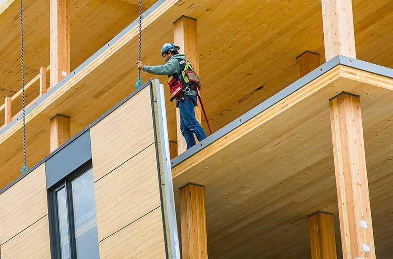 The rise of the carbon-negative building