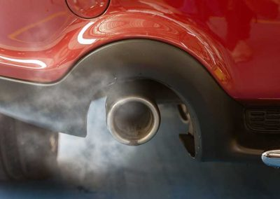 Car emissions are a wasted resource. We could use them to grow food.
