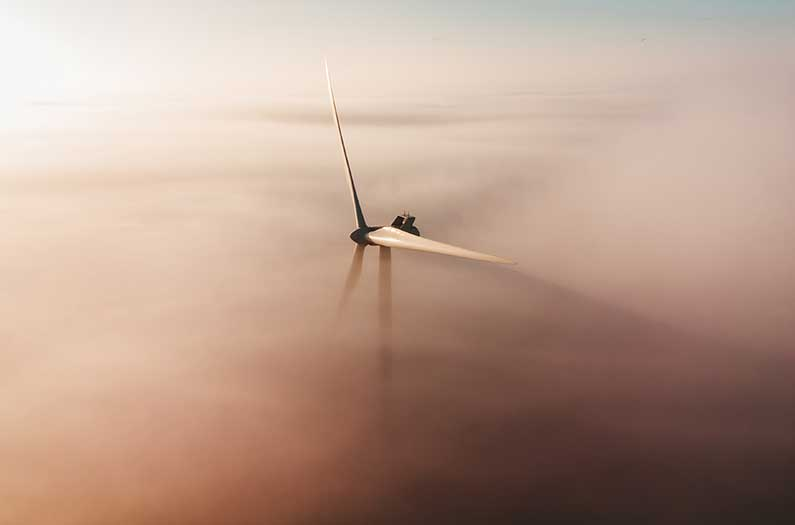 There's enough wind to power the globe. But exactly how much do we need to catch to rein in carbon?